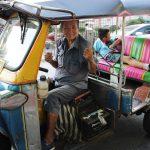 バンコクでのタクシーの乗り方(またはトゥクトゥクの乗り方)